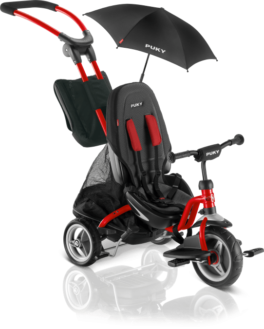 PUKY Detská trojkolka - Ceety CAT S6 Red 2019