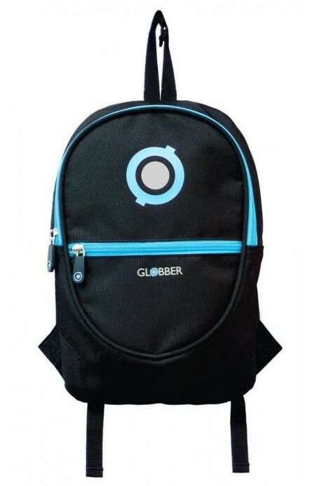 Globber Junior ruksak black / sky blue
