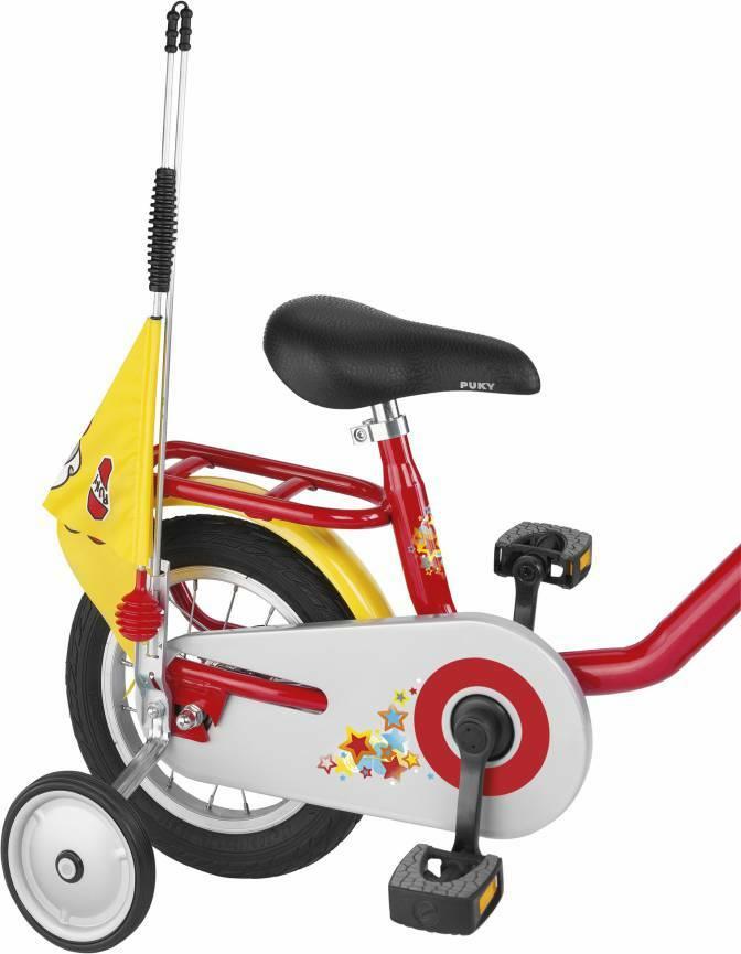 PUKY Bezpečnostná vlajka SW 3 žltá pre bicykle a kolobežky