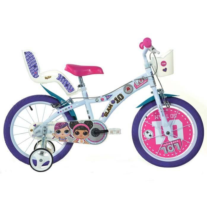 """DINO Bikes - Detský bicykel 16"""" 616GLOL - LOL SURPRISE"""