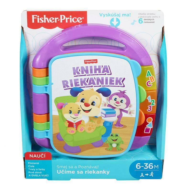 Fisher Price Učíme sa riekanky FRC72  - SK