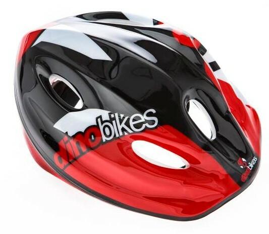 DINO Bikes - Detská prilba red