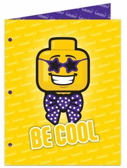 LEGO Iconic Papierová zložka - Be Cool
