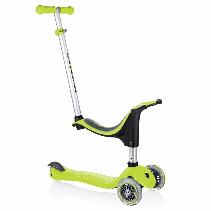Globber Kolobežka GO-UP Sporty Lime Green