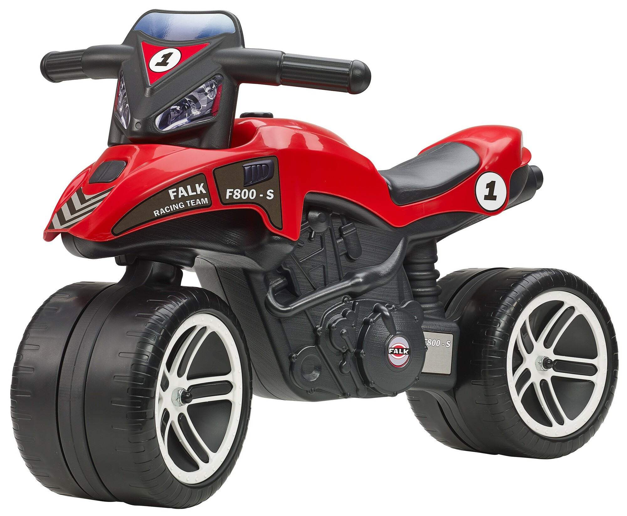 FALK Odrážadlo 500 Moto Racing Team červené