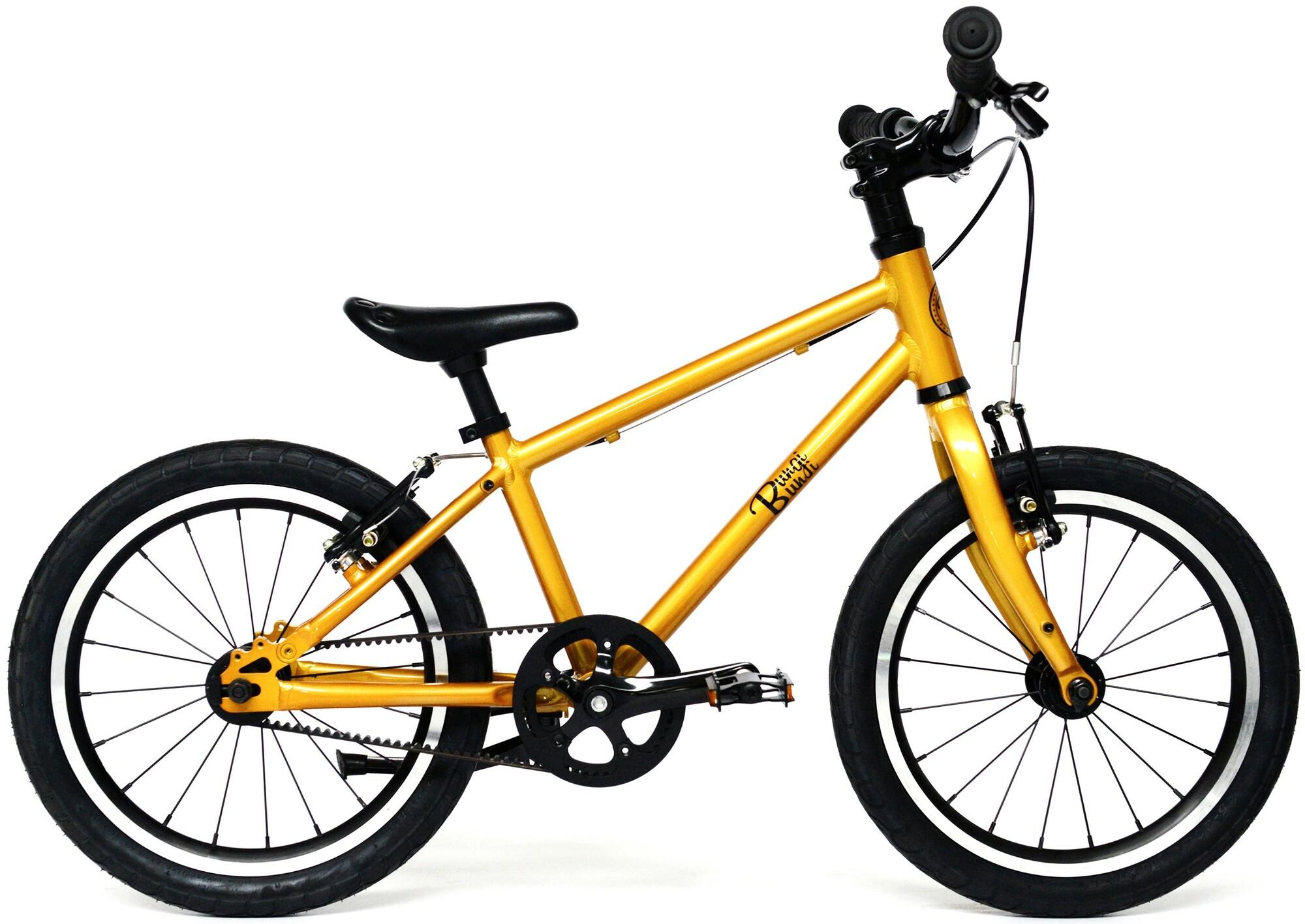 "Bungi Bungi - Detský bicykel Lite 16"" Hliníkový ultra ľahký 2019 Pineapple Yellow"