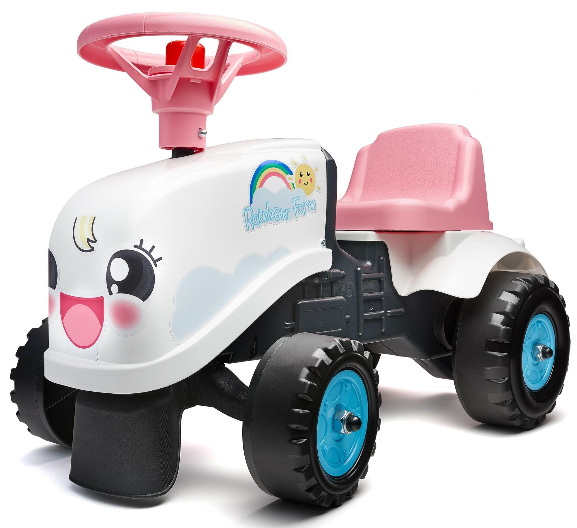 FALK Odrážadlo traktor Farm s vlečkou 206B