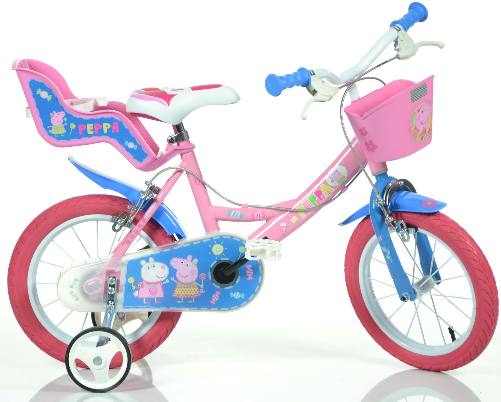 "DINO Bikes - Detský bicykel 14"" 144RPIG - Pepa Pig 2017"