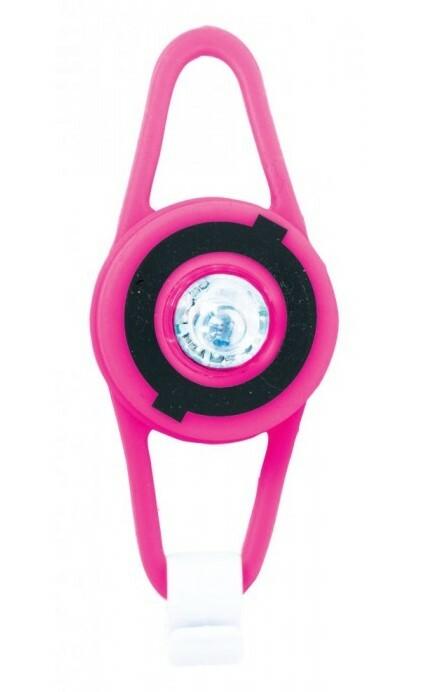 Globber LED svetielko - neon pink