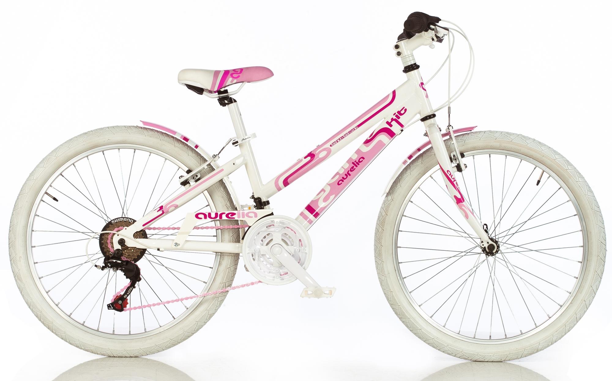 """DINO Bikes - Detský bicykel 24"""" 1024G - AURELIA Game Kit ružový 2017"""