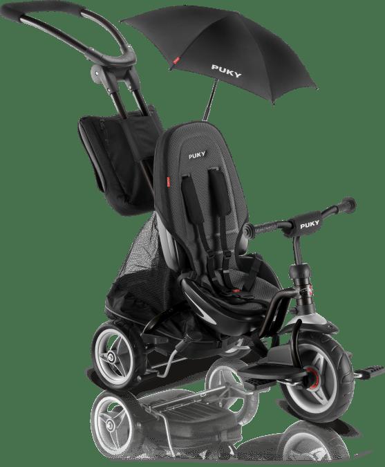 PUKY Detská trojkolka - Ceety CAT S6 Black 2019