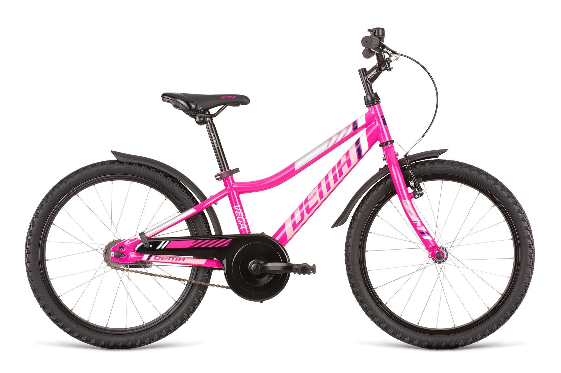 """Bicykel Dema VEGA 20"""" magenta-grey"""