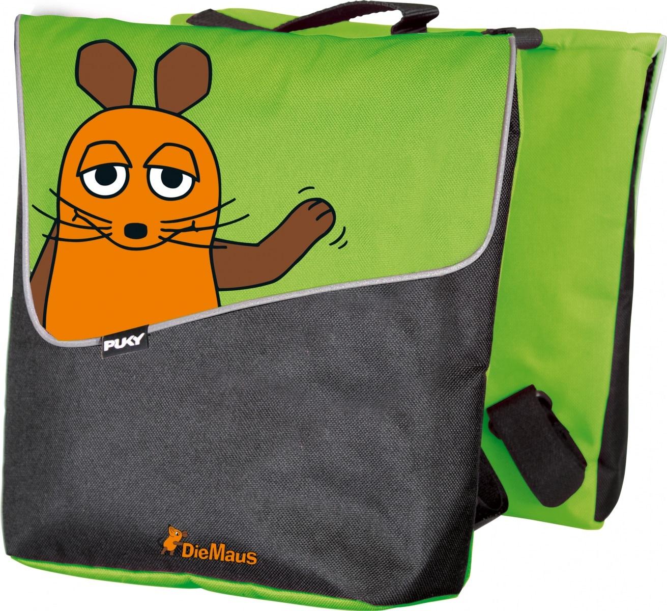 PUKY Dvojitá zadná taška D3 - Die Maus