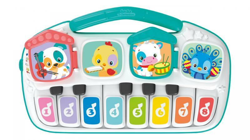 Clementoni Detské elektrické piano so zvieratkami