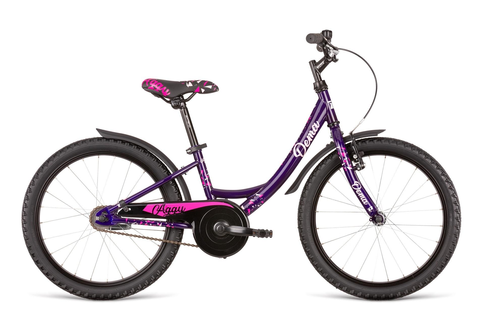 "Bicykel Dema AGGY 20"" dark violet-pink"
