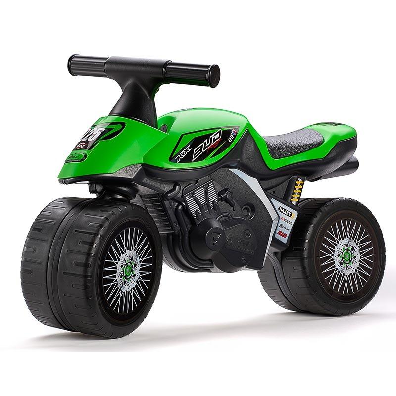 FALK Odrážadlo 402KX Kawasaki Green baby moto