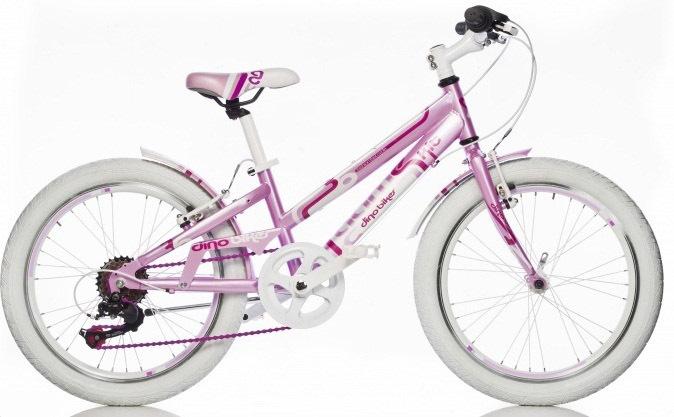 """DINO Bikes - Detský bicykel 20"""" 1020G - AURELIA Game Kit ružový 2017"""