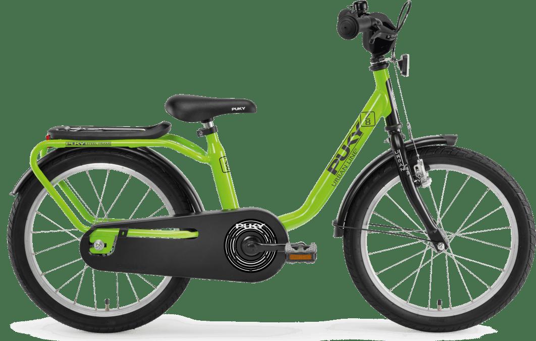 "PUKY Detský bicykel 18"" Z8 Kiwi/Black 2019"