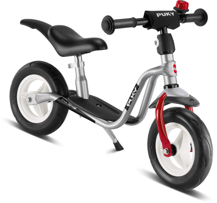 PUKY Odrážadlo Learner Bike Medium LR M Plus Silver 2019