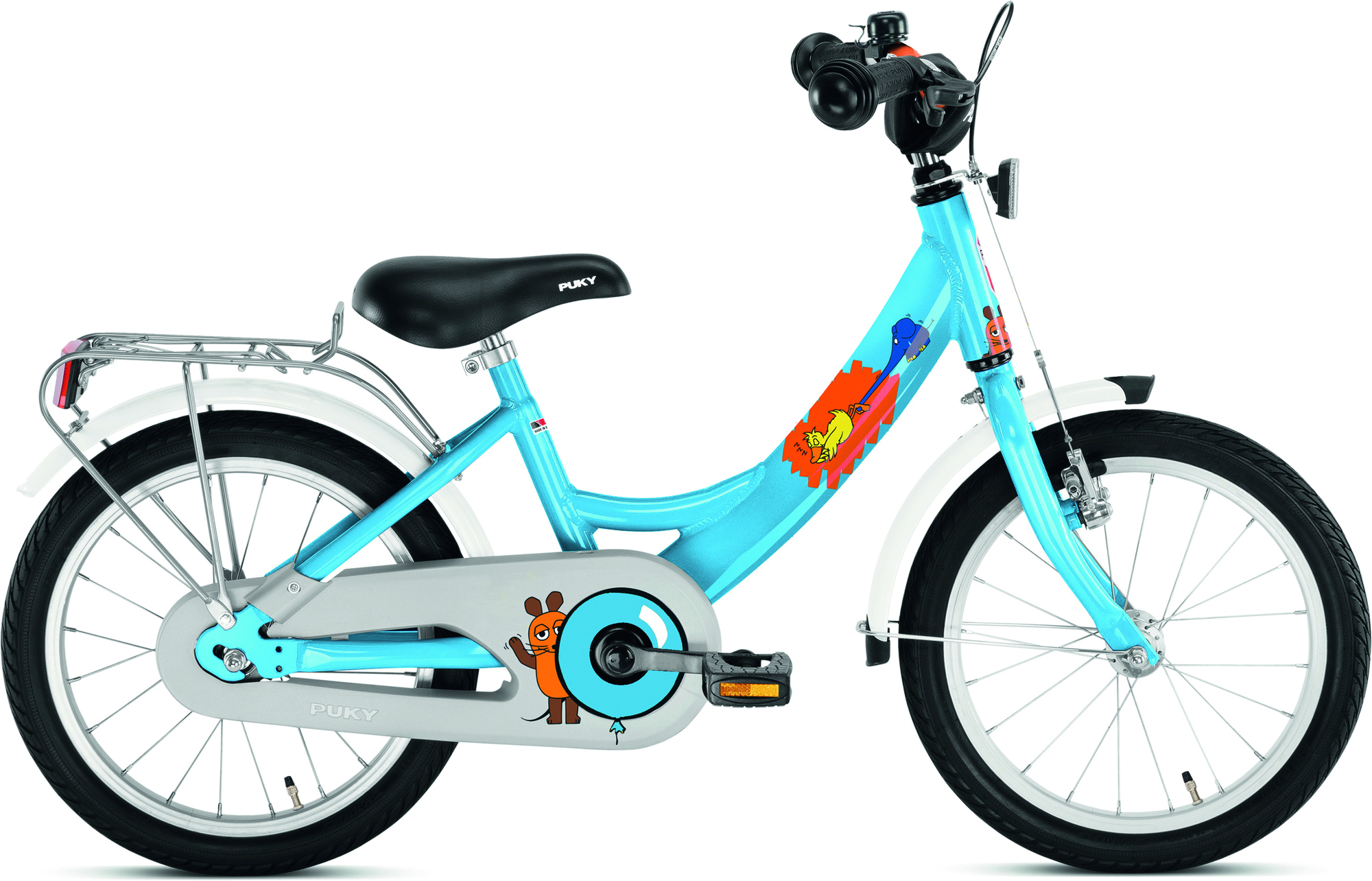 """PUKY Detský bicykel 16"""" ZL 16 ALU - Maus 2019"""