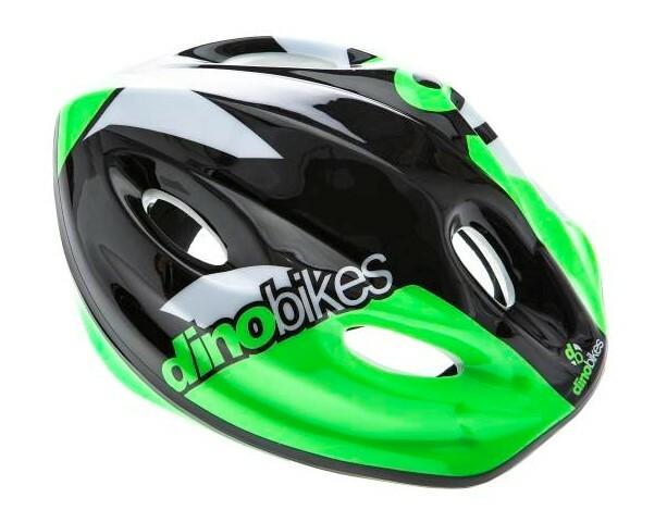 DINO Bikes - Detská prilba green