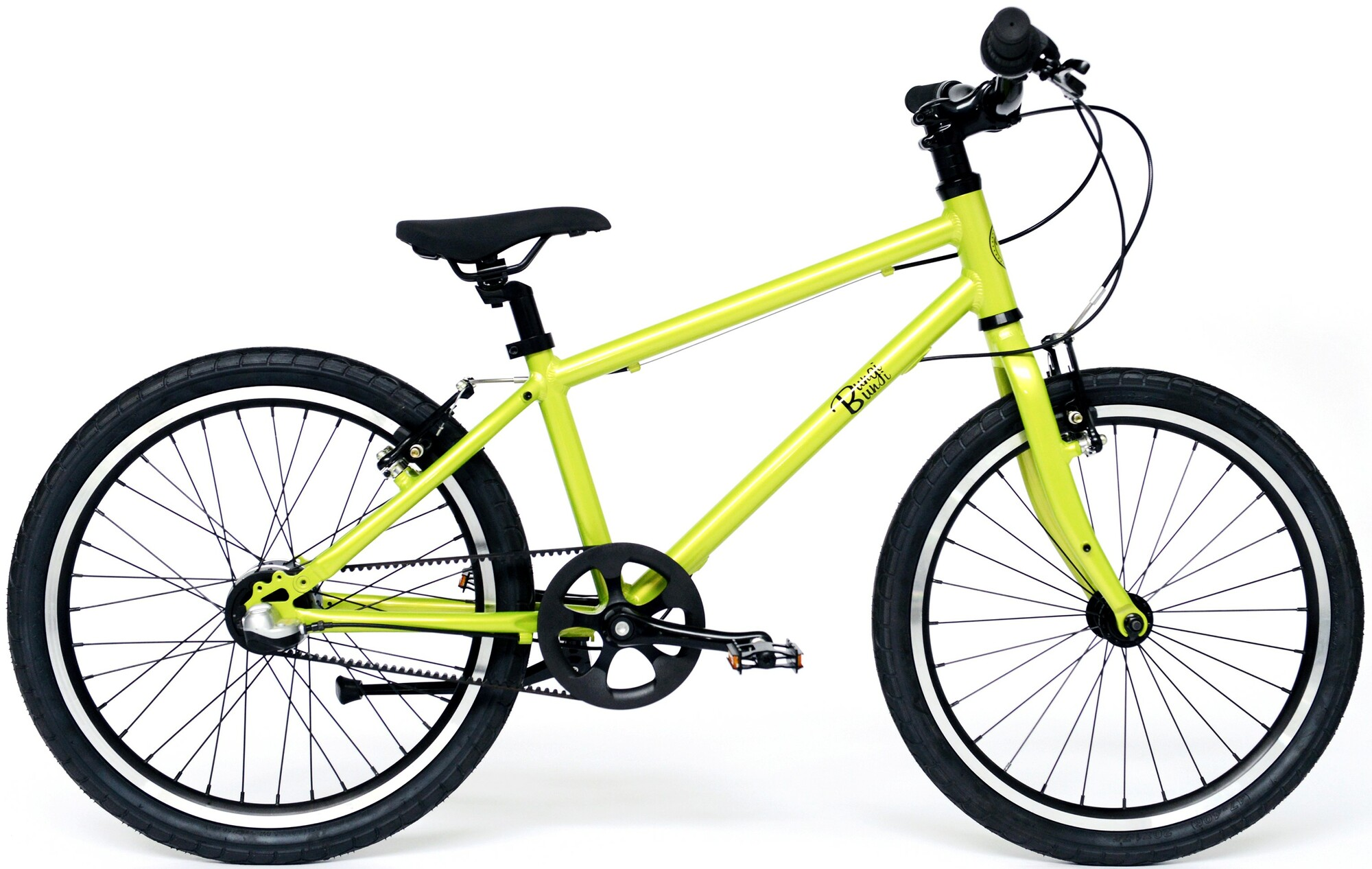 """Bungi Bungi - Detský bicykel Lite 20"""", Nexus 3 Hliníkový ultra ľahký 2019 - Apple Green"""
