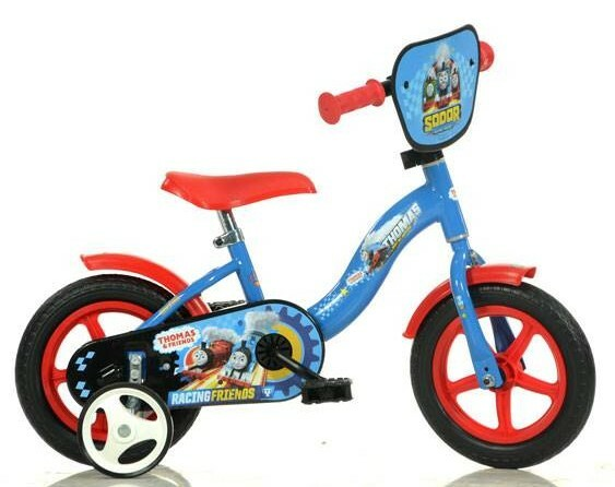 "DINO Bikes - Detský bicykel 10"" 108LTHO - Mašinka Thomas 2017"