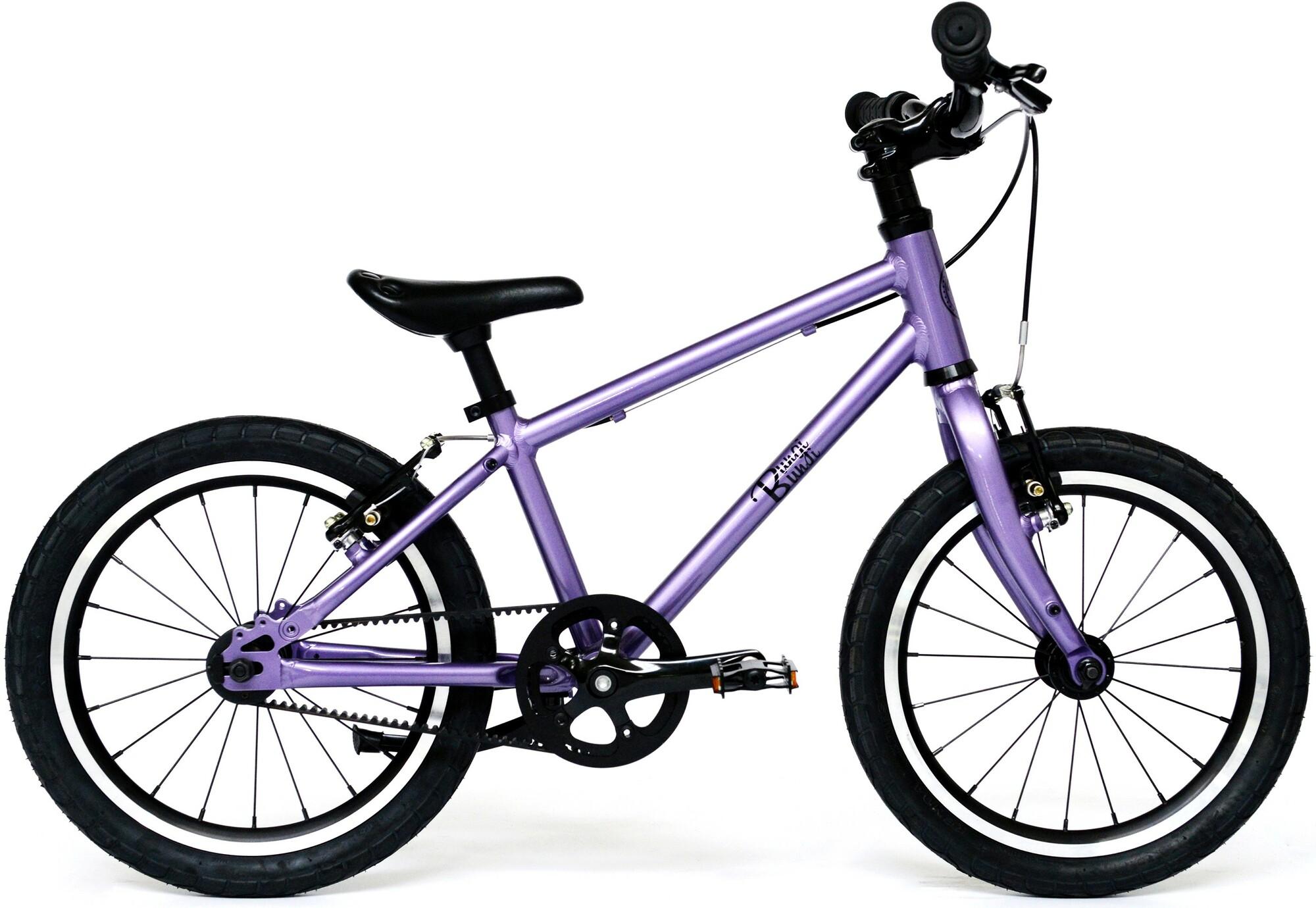 """Bungi Bungi - Detský bicykel Lite 16"""" Hliníkový ultra ľahký 2019 Plum Purple"""