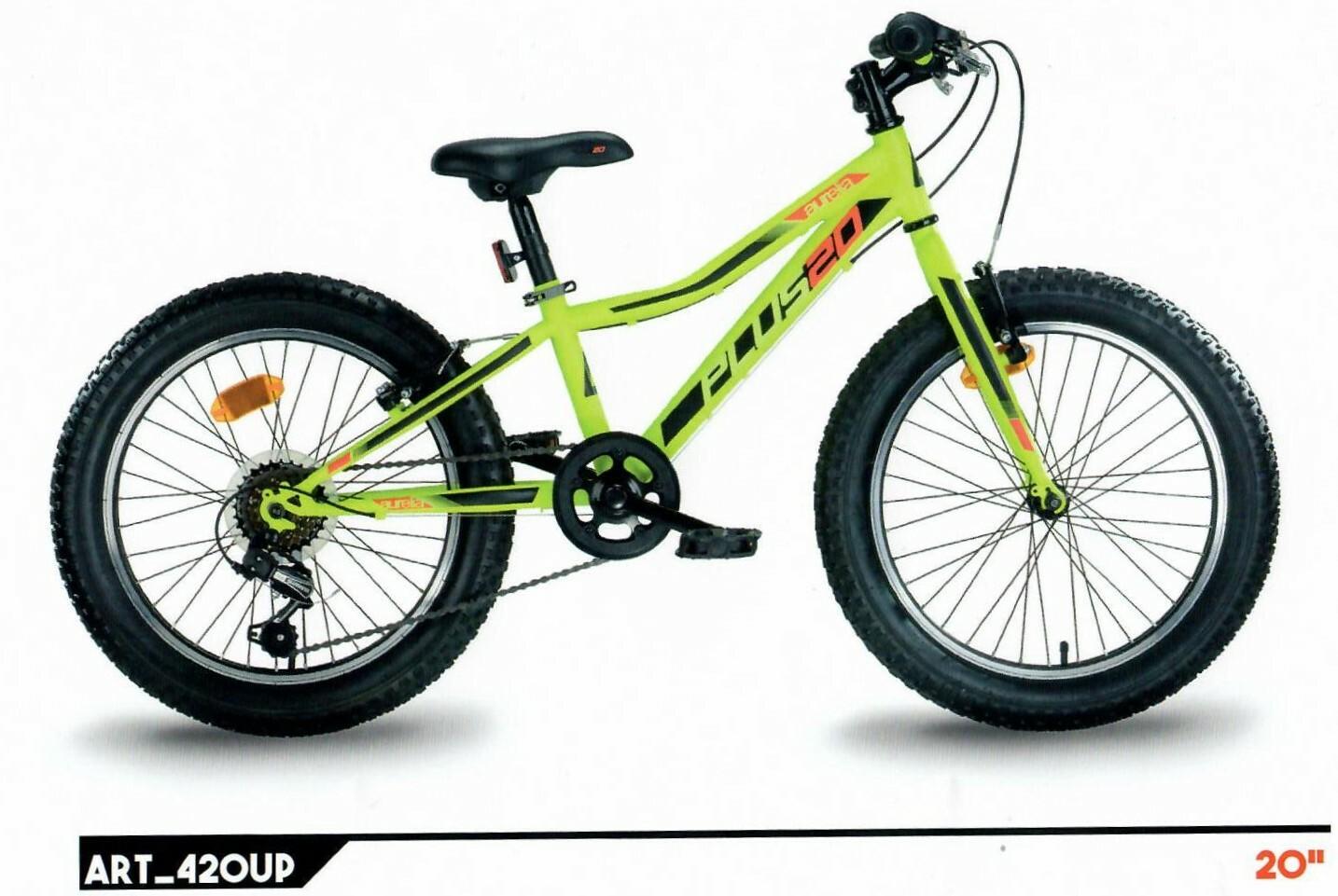 "DINO Bikes - Detský bicykel 20"" 420UP - AURELIA plus green"