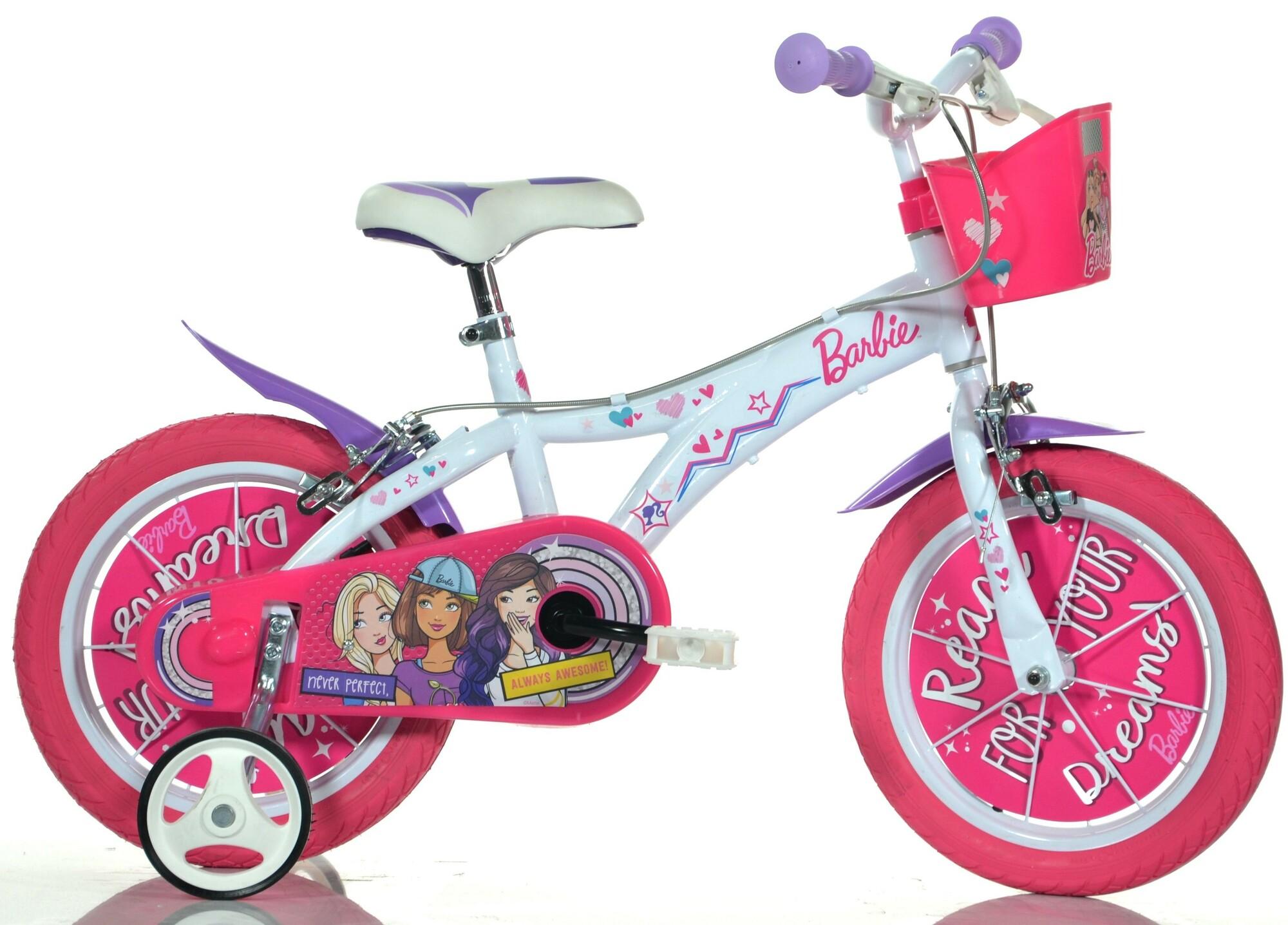 "DINO Bikes - Detský bicykel 16"" 616GBA - Barbie 2018"