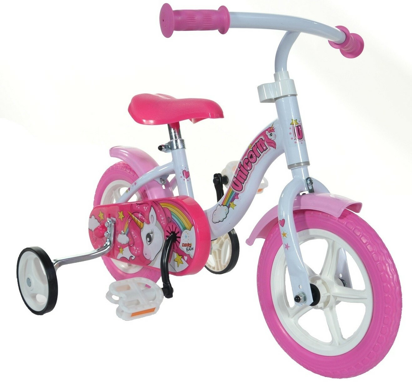 "DINO Bikes - Detský bicykel 10"" 108LUN Jednorožec"