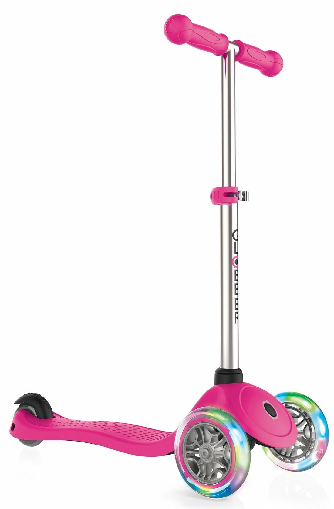 Globber Kolobežka Primo Lights Neon pink
