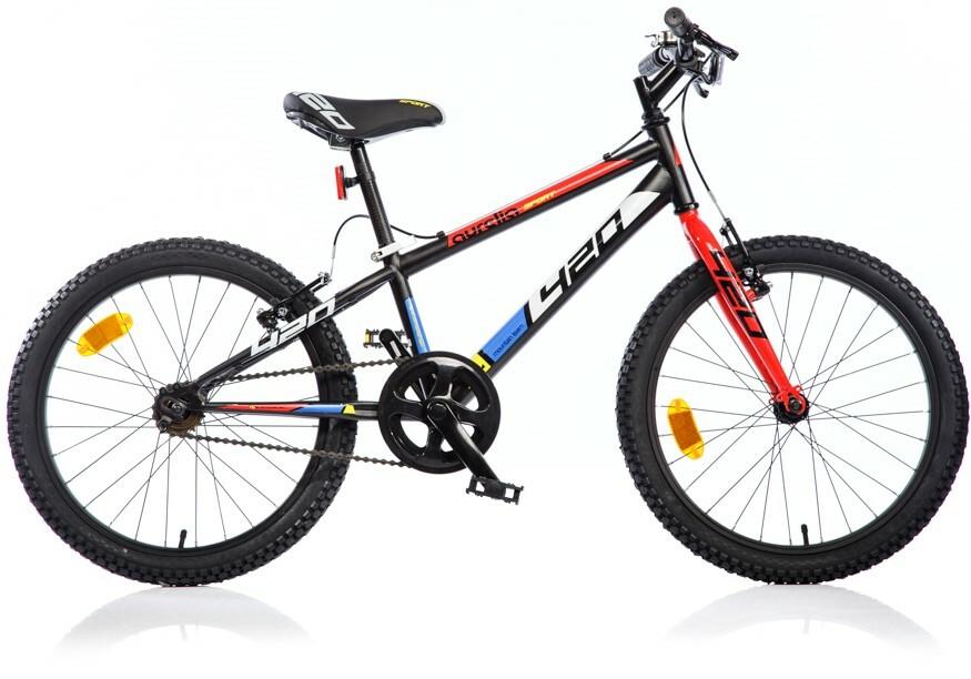 """DINO Bikes - Detský bicykel 20"""" 420U - AURELIA Sport čierny 2017"""