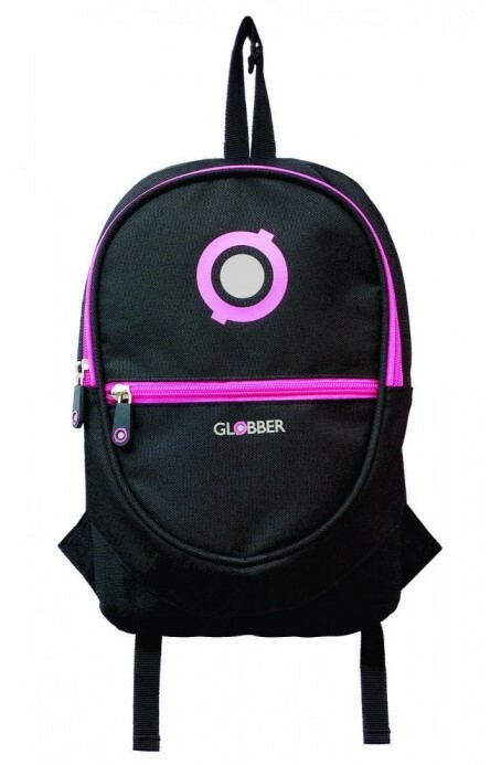 Globber Junior ruksak black / neon pink
