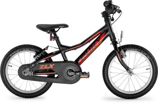 """PUKY Detský bicykel 16"""" ZLX 16 ALU F Black 2019"""
