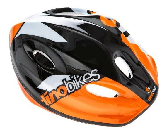 DINO Bikes - Detská prilba orange