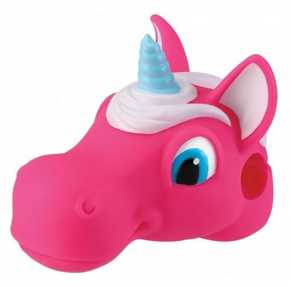 Globber ozdobná hlavička pre kolobežku - unicorn pink