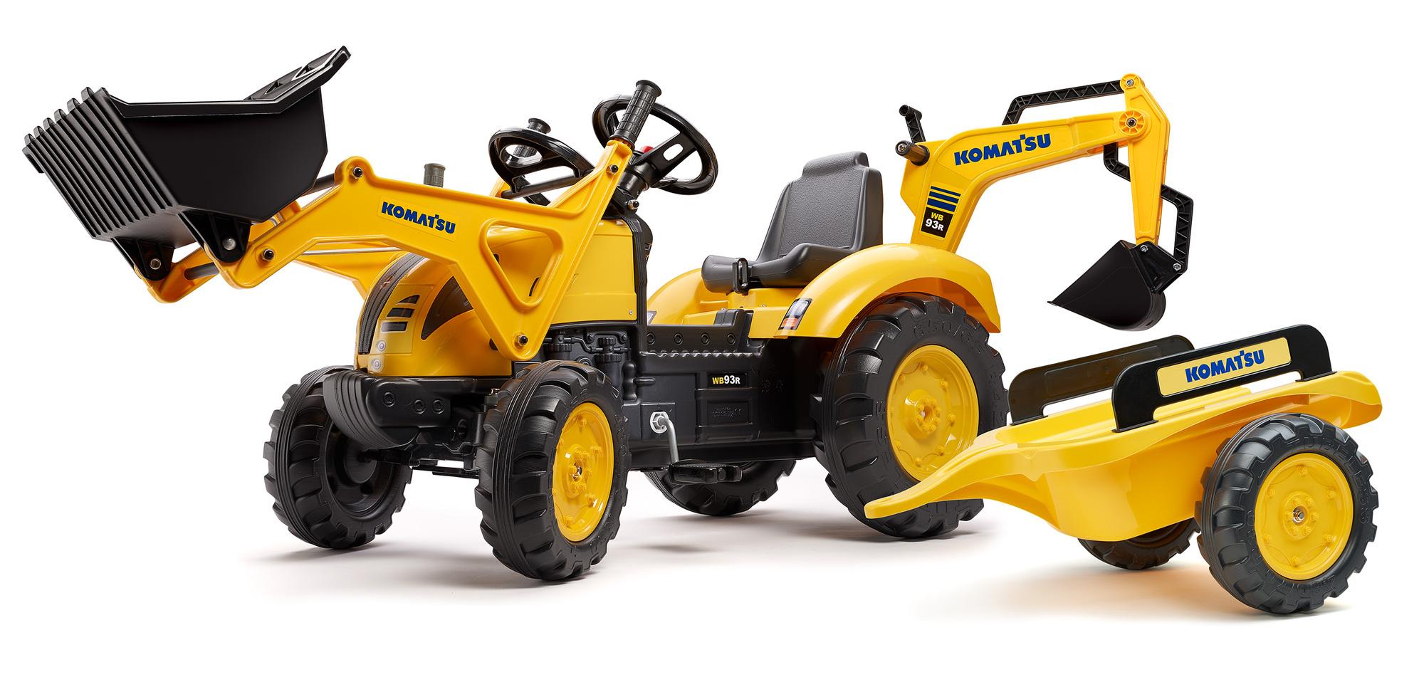 FALK Šliapací traktor 2086Y Komatsu