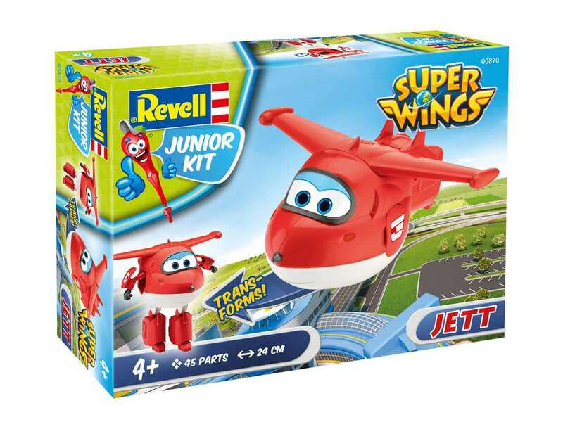 Image result for junior Kit letadlo 00870 - Super Wings Jett